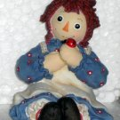 677760 Spend Life in Kindness Making New Friends Raggedy Ann & Andy Enesco Figurine Ladybug NIB