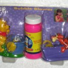 Winnie the Pooh and Tigger Pipe Bubble Blower Set with Bubbles Tootsietoy NIP Disney