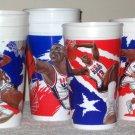 McDonald's USA Olympic Basketball Dream Team II Plastic Cups Shaq Kemp Mourning Hardaway