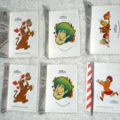 Scooby Doo Cracker Jack Prize Stickers Velma Fred Shaggy Daphne Hanna Barbara 2000 Cartoon Network