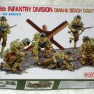 US 29th Infantry Division Omaha Beach D-Day 1944 1:35 Scale Model Kit 6211 Dragon 39-45 Series NIB