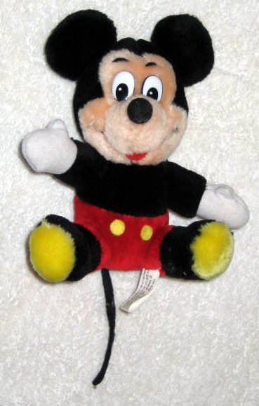 Mickey Mouse 7 Inch Plush - Disneyland - Walt Disney World - Canasa Trading Corp