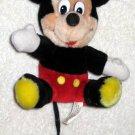 Mickey Mouse 7 Inch Plush Disneyland Walt Disney World Canasa Trading Corp