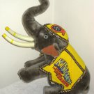 King Tusk Circus Elephant Plush Ringling Bros Barnum & Bailey 1987 Kenneth Feld