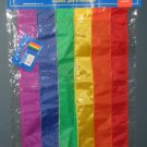 Rainbow Decorative Mini Garden Flag 13 x 18 Nylon NCE Red Orange Yellow Green Indigo Violet NIP