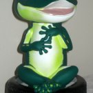 GEICO Lot Gecko Plastic Piggy Coin Bank Caveman Cave Man Bobblehead Tire Lizard Green Auto Insurance