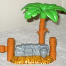 Replacement Palm Tree Stone Wall Fisher Price Little People Christmas Story Nativity 2005