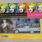 Marilyn Monroe Miniature Mini Figure and 1:36 Scale Ford Thunderbird Corgi 39902 NIB 2001