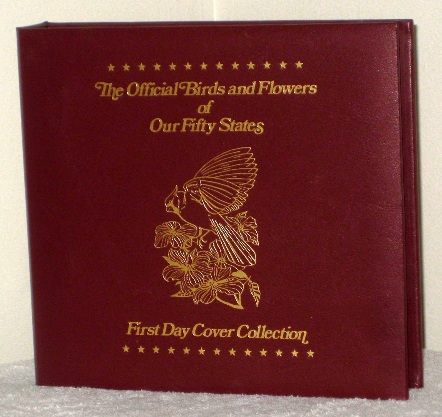 Virginia State Sales Tax >> Official Birds & Flowers Fifty States First Day Cover ...