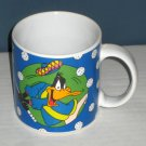 Daffy Duck Ceramic Golf Golfer Golfing Handled Coffee Mug Cup Sakura Looney Tunes 1994
