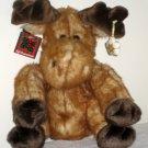 DanDee Dan Dee Plush Christmas Holiday Moose 12 Inch Collector's Choice