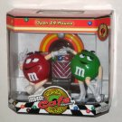M&M's Candy Dispenser Rock 'N Roll Cafe Juke Box Jukebox Green Red NIB