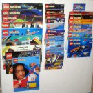 Lego System Instruction Manual Book Booklet Large Lot