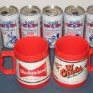 Baltimore Orioles Drinking Glass Pepsi Can HOF Tankard Horn Cal Ripken Jr McDonalds Texaco Budweiser