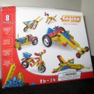 Engino ENG-0810 Model Building System Set Play to Invent Builds 8 Models Instructions Complete