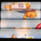 Winnie the Pooh Wall Border Edging Blue Balloons Bees 4 Rolls 20 Yards 60 Feet Imperial Prepasted