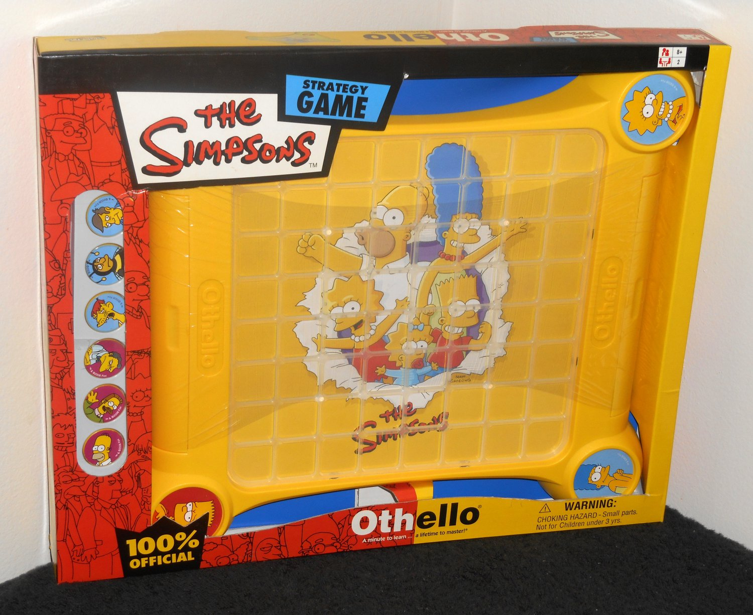 The Simpsons Edition Othello Strategy Game Sababa Toys 767 NIB New in Box Factory Sealed