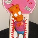 Bart Simpson 5 Doll Lot Bank Sappy Valentines Rag Doll Plush Stick-On DanDee Dan Dee 1990