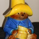Paddington Bear Ceramic Marmalade Honey Jar Eden Toys Inc 1978