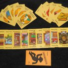 Simpsons Clue Game 2nd Edition Parts 21 Card Complete Set + Case File Envelope Suspects Weapons