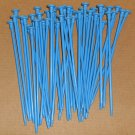 Vintage 1969 Bang Box Game Replacement Nails Blue Plastic Parts Ideal 2120-4
