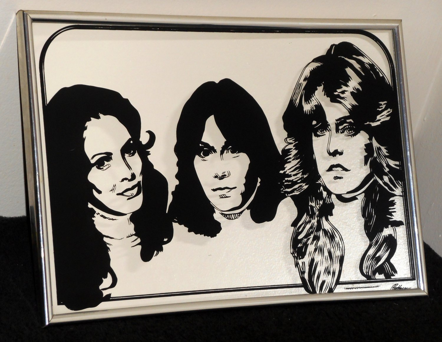 respond in addition Sold Charlies Angels Wall Mirror furthermore Watch as well  further Metal Art. on wire scrap chopper