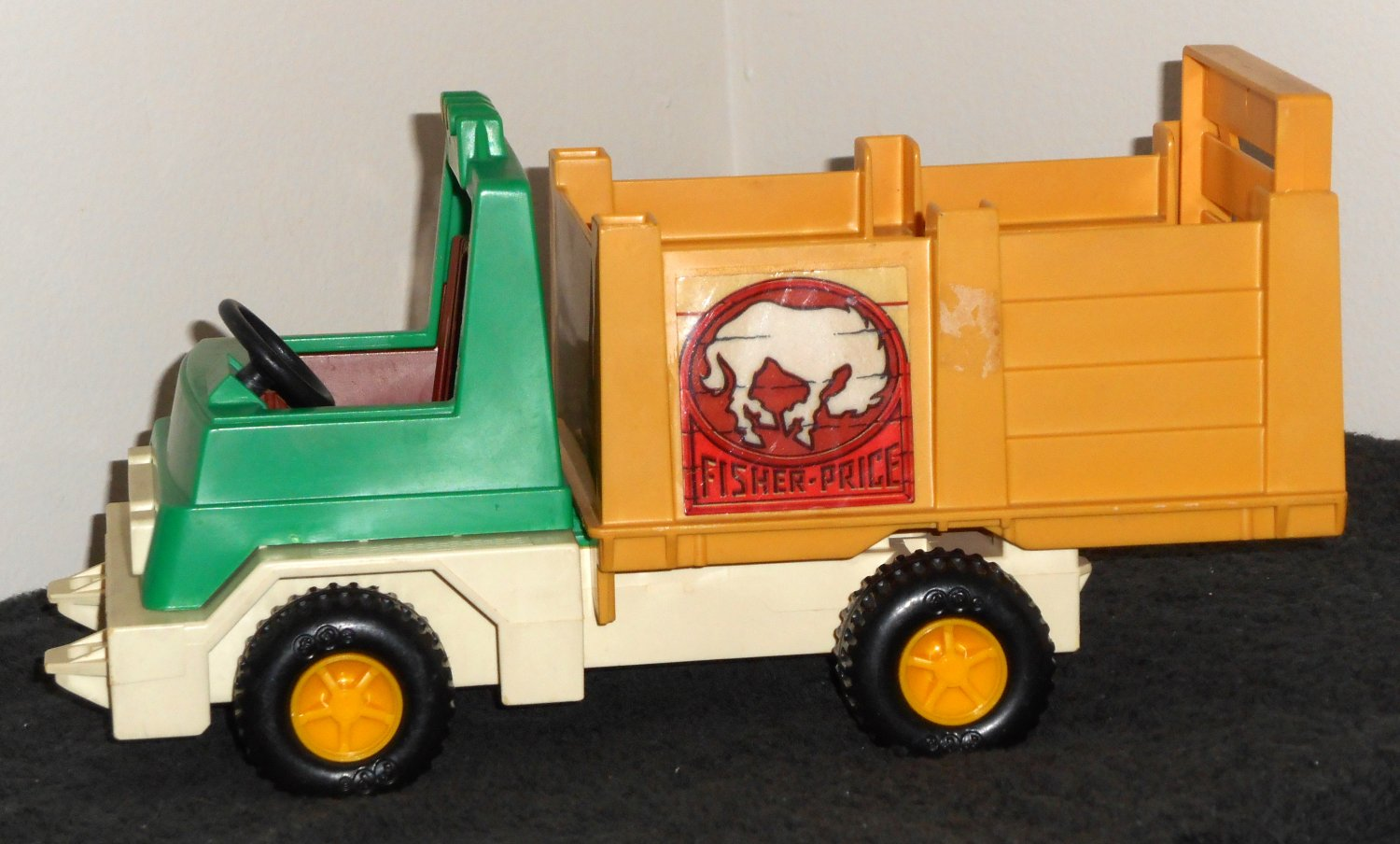 Vintage Fisher Price Rodeo Rig Vehicle Truck 330 FP 1979