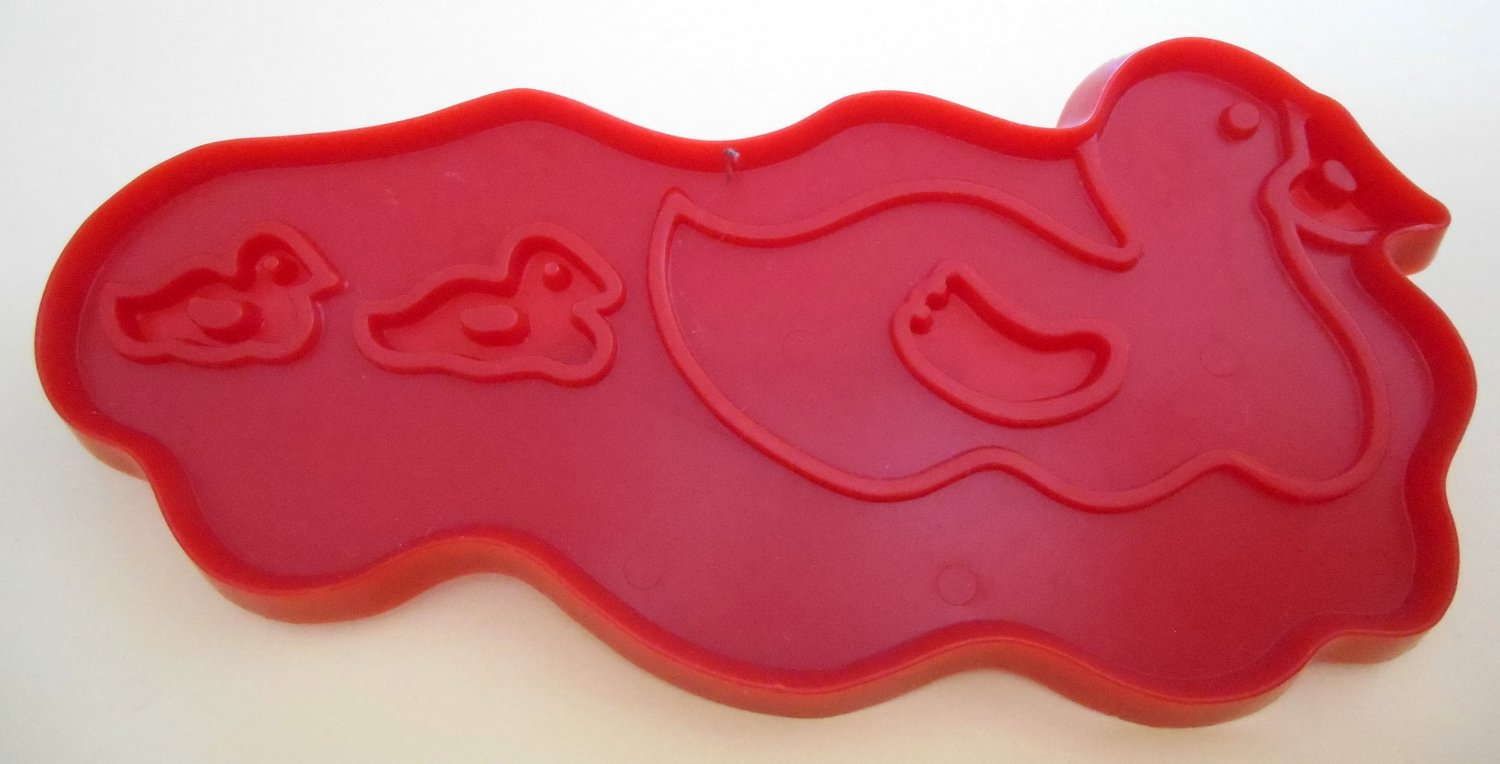 Old MacDonald's Ducks Plastic Cookie Cutter McDonald's Chilton 1979 Aluminum Specialty Company