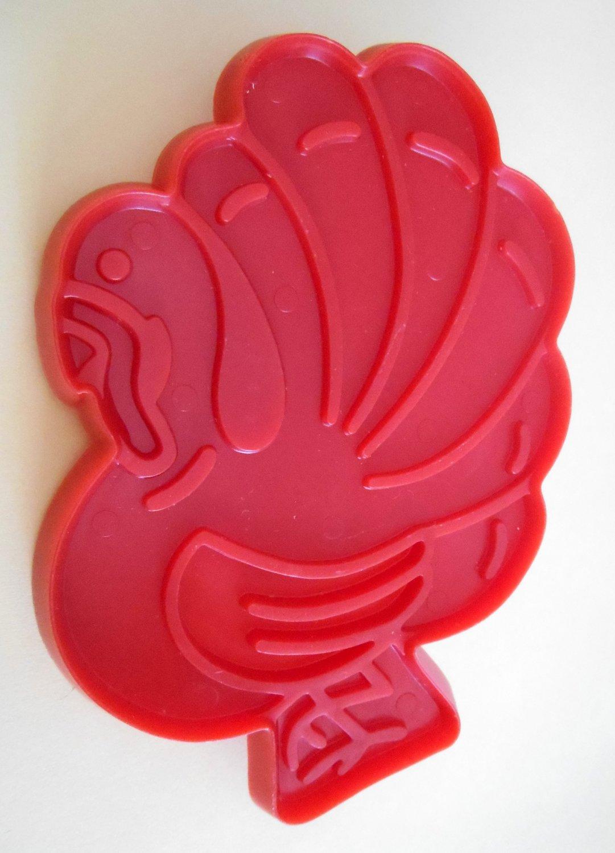 Old MacDonald's Turkey Plastic Cookie Cutter McDonald's Chilton 1979 Aluminum Specialty Company