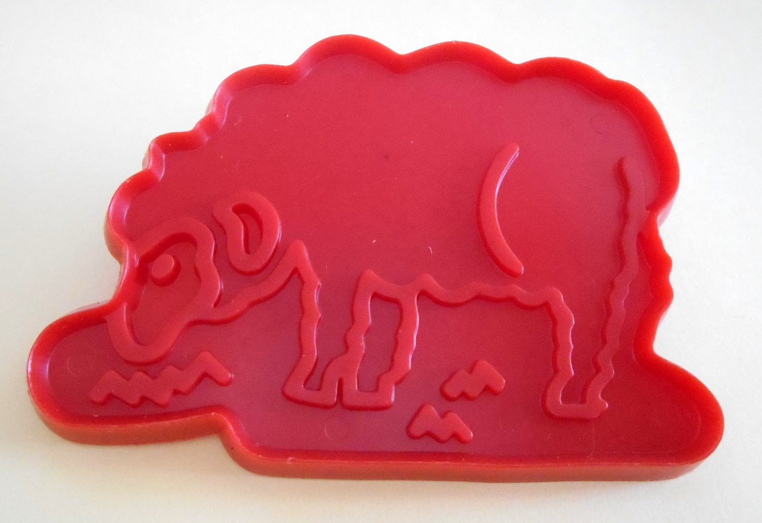 Old MacDonald's Sheep Plastic Cookie Cutter McDonald's Chilton 1979 Aluminum Specialty Company