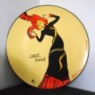 Jane Avril 16 Inch Decorative Plate Platter Certified International 1899 Henri de Toulouse-Lautrec
