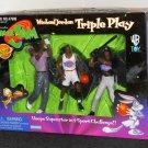 Space Jam Triple Play Michael Jordan 3 Sport Challenge Looney Tunes Playmates 17680 1996 NIB