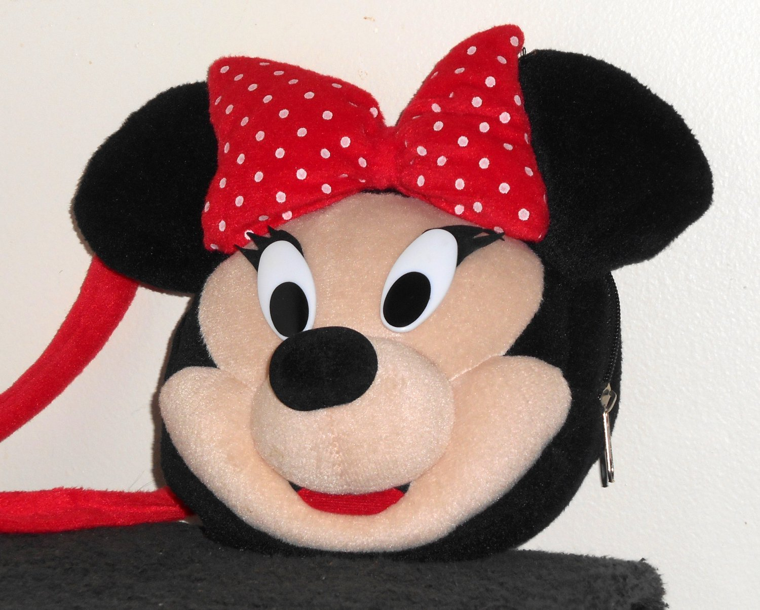 Minnie Mouse Child Plush Backpack & Purse Lot Back Pack Doll Bag Mickey's Stuff For Kids Disney