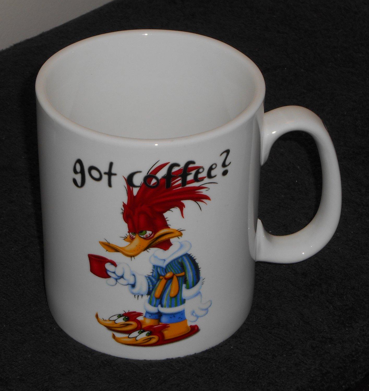 Sold Woody Woodpecker Ceramic Got Coffee Mug Cup Extra