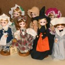 Bradley Darlins of the Month 9 Inch Doll Set of 12 January February March April May June July August