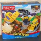 Fisher Price B3007 GeoTrax Mt Blast Construction Co Rail & Road System NIB Geo Trax 2003