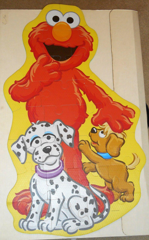 Sesame Street Elmo Big Like Me 25 Piece Foam Floor Jigsaw