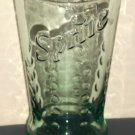 Sprite Soda Drinking Glass Green Embossed Tumbler Lemon Lime