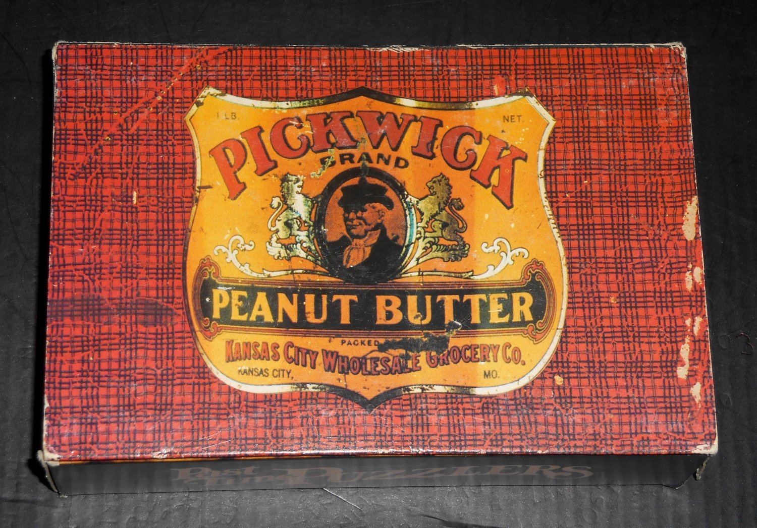 Springbok Past Time Puzzlers Mini Jigsaw Puzzle Pickwick Brand Peanut Butter PZL4548 COMPLETE 1972