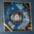 First Lunar Landing of Mankind Souvenir Glass Dish Apollo 11 Armstrong Houze Art NASA 1969 NIB