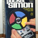 Simon Electronic Memory Game Lot Pocket Travel Size 4046 Digital Screen 1897 Battery Operated Hasbro