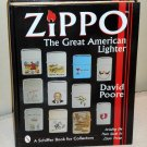 Zippo The Great American Lighter Hardcover Hardback Book Price Guide David Poore 1997 Dust Jacket