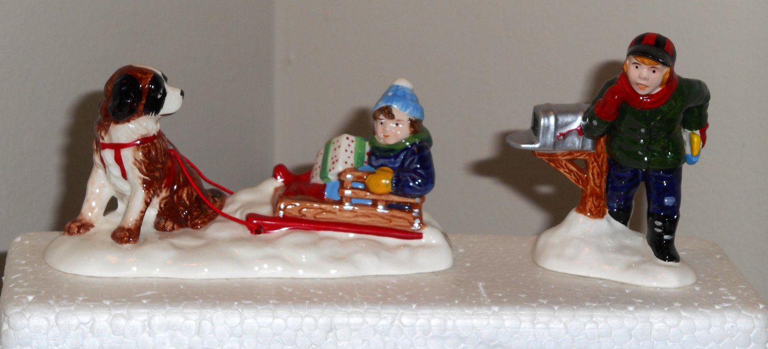 Department Dept 56 The Original Snow Village Mush Set 5474