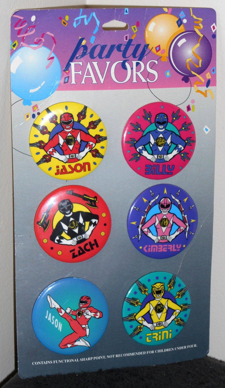 Mighty Morphin Original Power Rangers 2 188 Inch Pinback