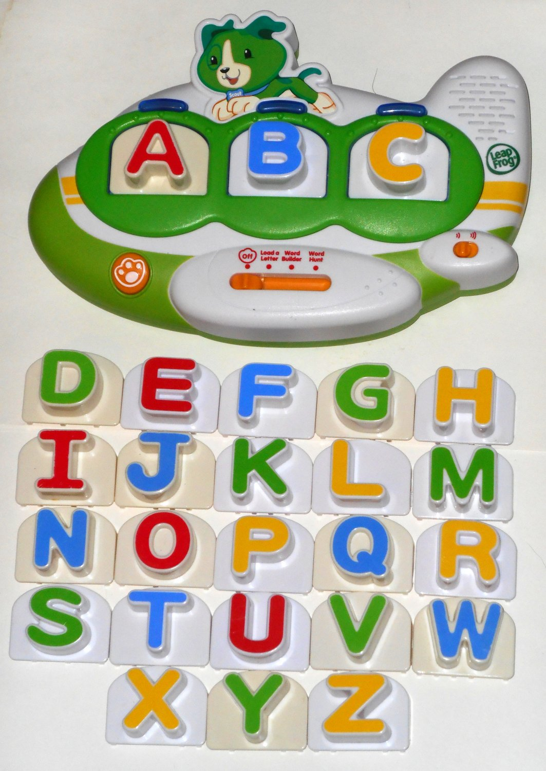 Sold Out Leap Frog Fridge Phonics Magnetic Word Builder Scout