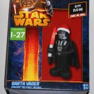 Darth Vader Santa Airblown Fan Inflatable 5 Feet Tall Christmas Star Wars Holiday LED Lights Up NIB