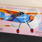 Guillow's Flying Model Kit 601 Cessna 180 Balsa Build By Number Rubber Band Power Junior Contest NIB