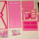 Arco Fashion Doll Bedroom Play Set Unused 7693 For Use With Barbie & Other 8½ - 11½ Dolls