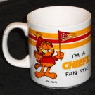Garfield the Cat Kansas City Chiefs Fan-Atic Ceramic Coffee Mug Cup Football Team NFL Enesco