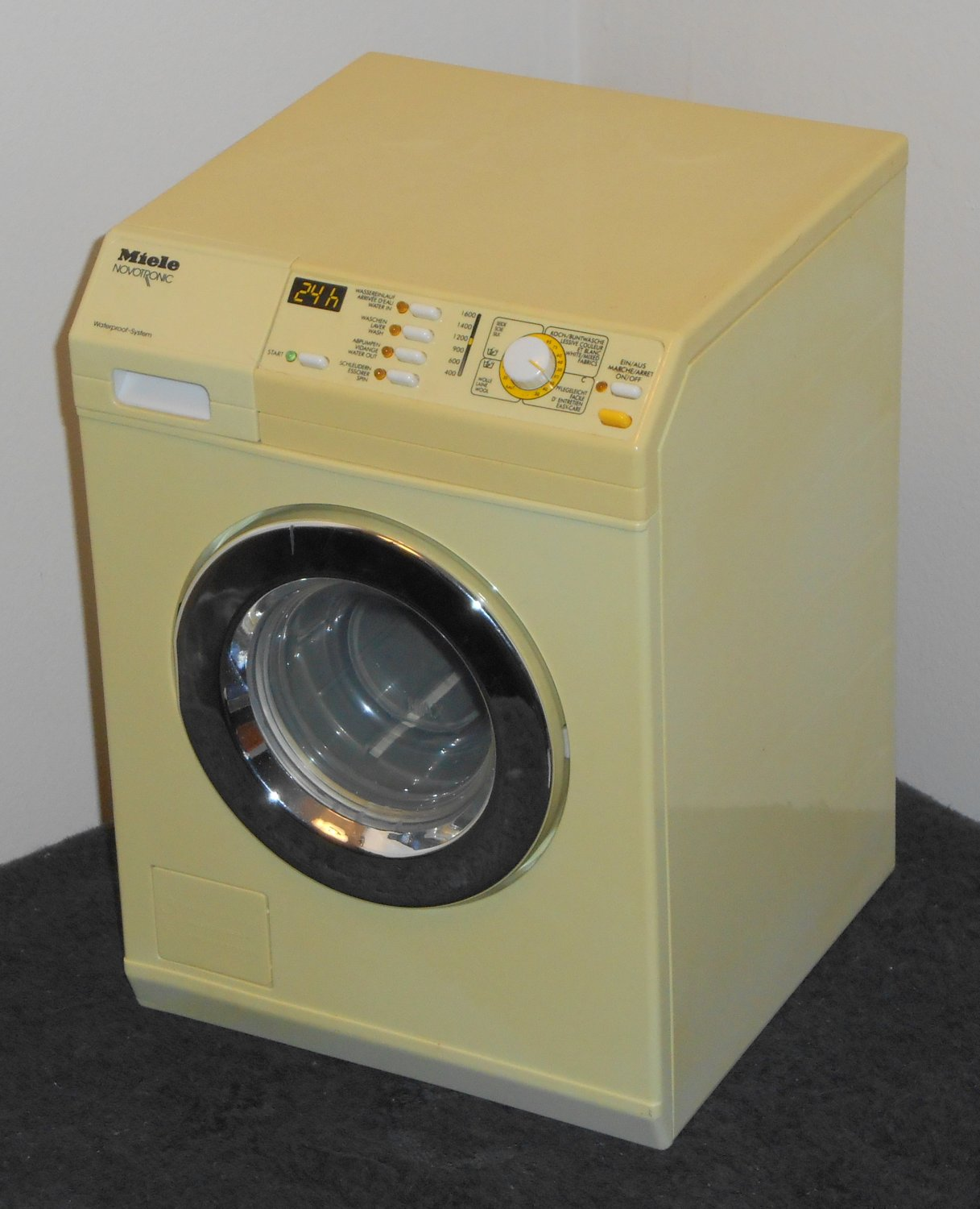 Clothes Washing Machine ~ Sold out miele novotronic doll toy clothes washer washing